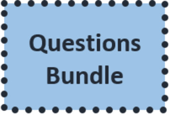 Interrogation (Questions in French) Bundle