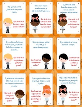 Questions à la Chaîne (Si Clauses Bundle): Whole-Class Speaking Activities