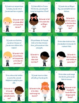 Questions à la chaîne (Si Clauses in the Past): French Speaking Activity