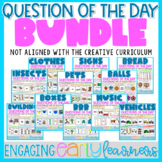 Questions of the Day BUNDLE | Digital and Printable NO PREP