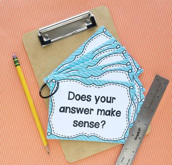 Math Talk Question Posters