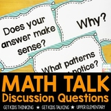 Math Talks - Discussion Questions