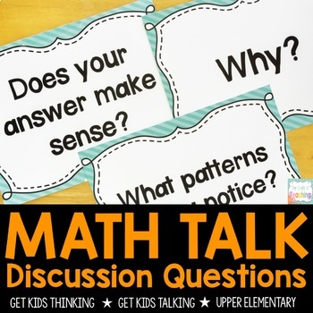 Questions to Encourage Mathematical Thinking POSTERS