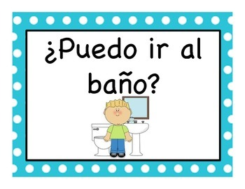 Questions to Leave the Classroom in Spanish