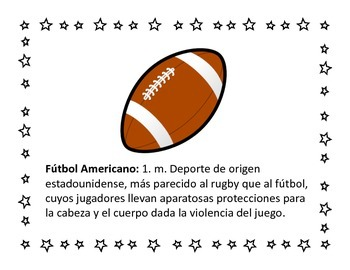Sports Posters in Spanish