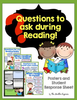 Questions to ask during Reading Posters and Student Respon