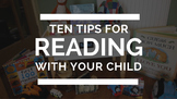 Questions to ask your child when reading (parent resource)