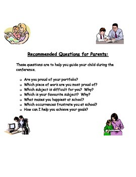 Questions to get Parents involved