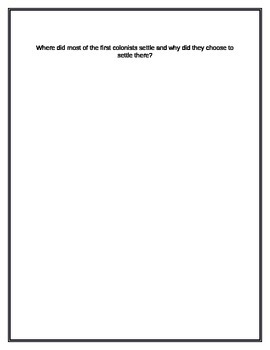 Questions to use with a Round Robin activity