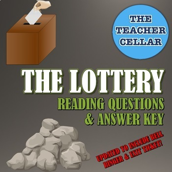 Questions Answer Key For The Lottery By S Jackson NOW