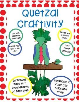 Quetzal Craftivity