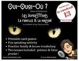 Qui Quoi Où Superstition Clue Game Présent Futur Read Fami
