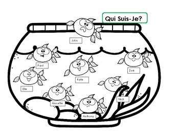 Qui Suis-Je? French speaking and Reading Activity - les sentiments