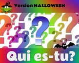Qui es-tu?  French Halloween Guess Who Game