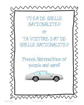 Qui es-tu? - French Personal Identity Growing Bundle