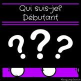 Qui suis-je? Debutant Bundle // French Reading Comprehension Game