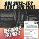 Qui-suis je (je me presente) French project (all about me, introductions)