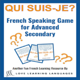Qui suis-je? Interactive activity for advanced secondary F
