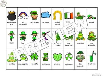 Qui suis-je? La Saint Patrick (FRENCH Guess Who St.Patrick's Oral Language Game)