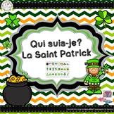 Qui suis-je? La Saint Patrick (FRENCH Guess Who St.Patrick