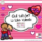 Qui suis-je? La Saint-Valentin (FRENCH Guess Who Valentine's Oral Language Game)