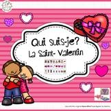 Qui suis-je? La Saint-Valentin (FRENCH Guess Who Valentine