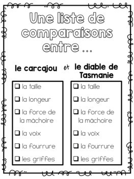 Qui va gagner?? (Opinion writing and accompanying activities)