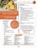 Quiche lorraine - recipe in French