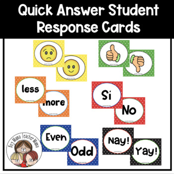 Quick Answer Cards