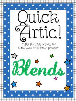 Quick Artic! Blends
