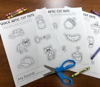 Quick Artic Cut Outs FREEBIE