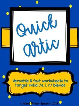 Quick Artic - Initial Blends