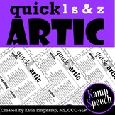 Quick Artic L, S, and Z