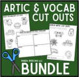 Quick Articulation and Vocabulary Cut Outs BUNDLE