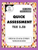 Quick Assessment 3.5B-Represent Problems(Multiplication & Division)