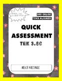 Quick Assessment (TEK 3.6C) Area of Rectangles