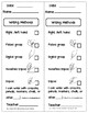 Quick Assessment Tool Kit for Writing, Name & Letter Recognition