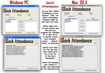 Quick Attendance for Mac OS X