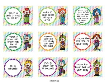 Brain Breaks for YOUNGER Students - Get Them Moving