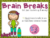 Quick Brain Breaks to Get Students Up & Moving