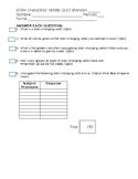 Quick/Brief Stem changing Verbs Quiz