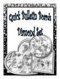 Classroom Decor Bulletin Board Diamond Themed Set