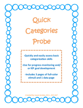 Quick Categories Probe