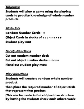 Quick Centers and Stations Third Grade Common Core 3.oa.a.1