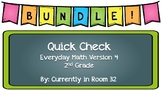 Quick Check Everyday Math Bundle