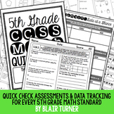 5th Grade Common Core Math Quick Checks