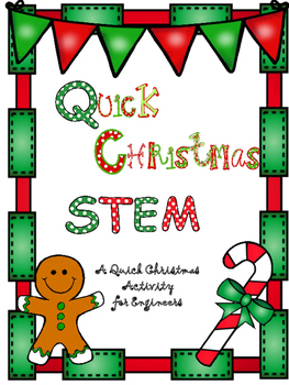 Quick Christmas STEM- Christmas Tree