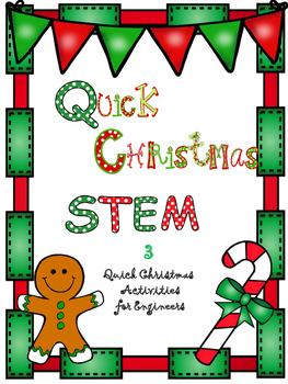 Quick Christmas STEM bundle