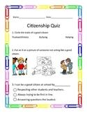 Quick Citizenship Quiz