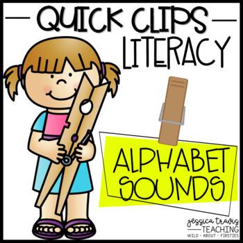 Quick Clips ~ Alphabet Sounds (Beginning & End)